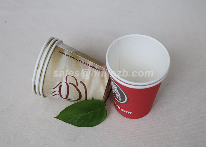 Single Side PE Coated Disposable To Go Coffee Cups For Vending Machine Hot Drink
